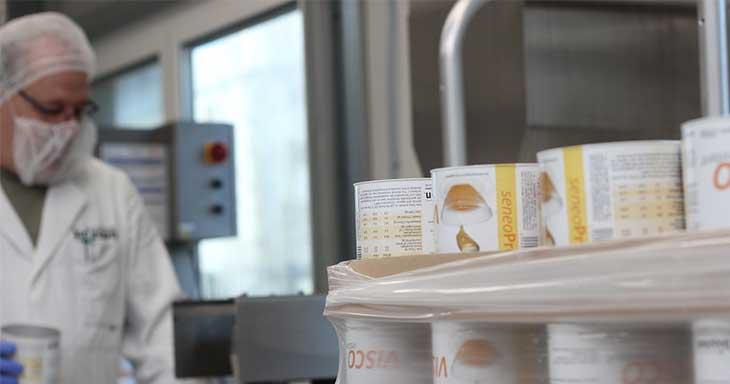 Auftragsproduktion von Lebensmitteln
